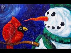 Learn how to paint whimsical Reindeer with Acrylics on Canvas. Artist Angela Anderson shows step by step how to create this fun Christmas Canvas painting. Acrylic Painting Lessons, Acrylic Painting For Beginners, Acrylic Painting Tutorials, Beginner Painting, Acrylic Paintings, Painting Tips, Painting Techniques, Watercolor Painting, Christmas Canvas