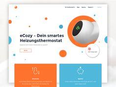 eCozy Website – Home