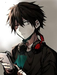 Because antisocial shut-ins who care more about their computers than sleep are my kind of people Manga Anime, Anime Amor, Manga Boy, Dark Anime, Kagerou Project, Hot Anime Boy, Anime Boys, Estilo Anime, Handsome Anime