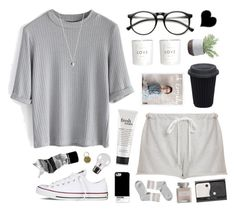 """""""i will try to fix you"""" by ruthaudreyk ❤ liked on Polyvore featuring Clu, Chicwish, INDIE HAIR, Converse, philosophy, Monki, H&M, Mullein & Sparrow, Torre & Tagus and Aesop"""