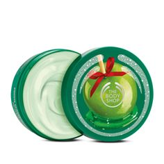 Glazed Apple Body Butter, the body shop, limited                   I've really been enjoying this scent these dry winter days. Great for the holidays!