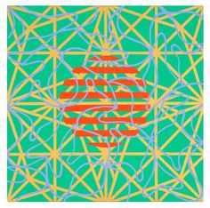 Bright Star 3, 2011 by Mari Rantanen. Acrylic and pigment on canvas. For sale, inquiries: sari.seitovirta@seitsemanvirtaa.com / GALERIE SEITSEMÄN VIRTAA