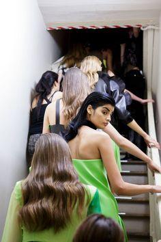 Emanuel Ungaro at Paris Fashion Week Spring 2017 - Backstage Runway Photos