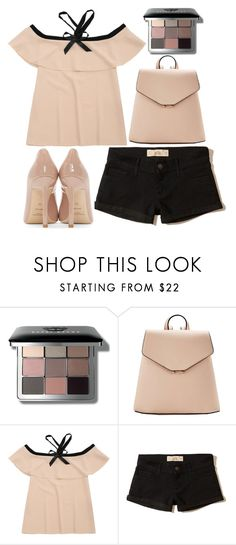 """out to breakfast"" by j-n-a ❤ liked on Polyvore featuring Bobbi Brown Cosmetics, MANGO, Hollister Co. and Yves Saint Laurent"