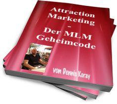 MLM Geheim Code  Dieses wertvolle Ebook ist für alle geschrieben, die es wirklich schaffen wollen, endlich mit einem System ein passives Einkommen im Internet zu generieren.  95% aller MLM / Network Marketing Networker haben keinen Erfolg und schmeißen irgendwann das Handtuch.  Hast Du keine Lust, Freunde und Bekannte zu belästigen mit Deinem Network Marketing Business? Dann ändere Deine Strategie! Du kannst dieses Buch... auf der Website anfordern.