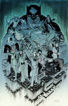 Batman Rogues Gallery  By: Walter Ostlie