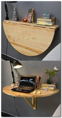 SHARESREAD NEXT You can use some DIY space-saving furniture ideas if you have a small home with small space. These ideas are suitable to make more free space inside your home using unique furniture. Space-saving furniture now is Decor, Home Diy, Diy Furniture, Furniture, Space Saving Furniture, Diy Home Decor, Home Projects, Home Decor, Remodel Bedroom