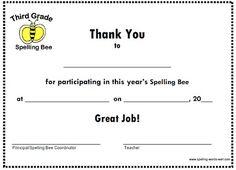 Find Your Spelling Bee Certificate Here Spelling Bee Practice, Spelling Bee Word List, 3rd Grade Spelling, Spelling Words, Spelling Worksheets, Spelling Games, Spelling Activities, Fun Worksheets, Bee Certificate