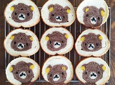 Japanese mom made cute bread for her kids! 日本母親創意多 原來吐司也可以這麼有愛!@konel_bread