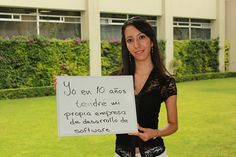 Jessica Núñez, estudiante de Ingeniería en Sistemas Computacionales