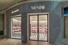 Valentino Standalone Store, Riyadh – Saudi Arabia » Retail Design Blog Visual Merchandising, Valentino Store, Riyadh Saudi Arabia, Branding, Design Furniture, Retail Design, Stores, Store Design, Shoe Brands