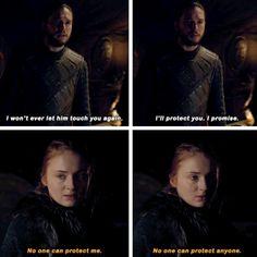 Game of Thrones - Jon Snow & Sansa Stark