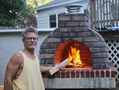 Suns Out.. Guns Out!   This series of Awesome Oven pictures shows exactly how to build a Mattone Barile Grande with Ceramic Fiber Blanket and Thin Brick veneer.  BrickWoodOvens.com