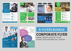 Corporate Flyer Bundle by AfzaalGraphics on Creative Market