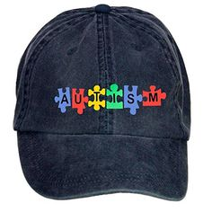 Autism Awareness Unisex Cotton Baseball Caps 100% cotton washed caps allowing you to choose your preferred size and comfortable fit. Is that diverse colors are available for the cap, so both men ...  #Autism #AutismAwareness #AutismHour #AutismInMyLife #AutismParents #AutismTMI #Autistic #Awareness #Baseball #Caps #Cotton #Unisex