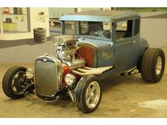 Ford : Model A Coupe 1930 Ford Model A Coupe X 50s - http://www.legendaryfinds.com/ford-model-a-coupe-1930-ford-model-a-coupe-x-50s-3/
