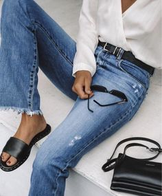 9 Habits to Add to Your Morning Routine For A Great Day Weekend casual Look Fashion, Daily Fashion, Everyday Fashion, Trendy Fashion, Spring Fashion, Winter Fashion, Womens Fashion, Fashion Trends, Denim Fashion