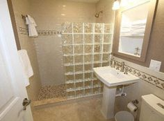 1000 images about showers on pinterest subway tile - Glass bricks designs walls ...
