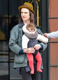 Tom Sturridge Out And About With Marlowe In NYC