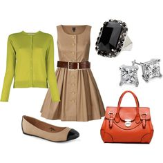 """Teacher chic"" by krystal-florez on Polyvore"