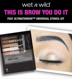 Stop BROW-sing the beauty aisle and go straight for wet n wild! Our tutorial…