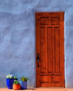 Abiquiu Door by TheBlindHog, via Flickr