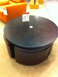 Cosmo Cocktail Dining Table With Storage Benches Ottomans And