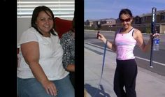 Healthy weight loss success. health-fitness
