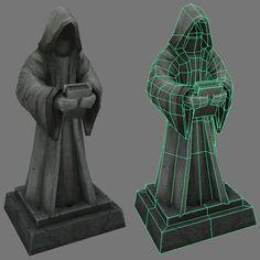 Statue asset. by Jimpaw on deviantART