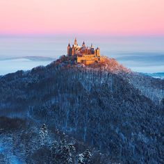 Hohenzollern Castle in Bisingen, Germany