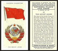The Soviet Union European Flags, Cigarette Box, Flag Art, National Flag, Cold War, Coat Of Arms, Wave, Banner, Symbols