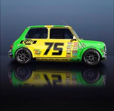 Days of thunder anyone lots of work gone into this Owner- @twelve75 - @twelve75 #ukminis...