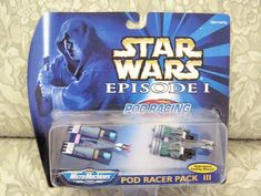 Star Wars Episode 1 Pod Racer Pack by Galoob Star Wars Pod Racer Racer Pack of 4 Micro Machines Quality Works With Pod Launchers Star Wars Action Figures, Star Wars Toys, Star Wars Episodes, Packing, Stars, Amazon, High Speed, Universe, Link