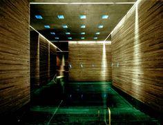 Peter Zumthor. Thermal Baths in Vals, Switzerland, 1990-1996