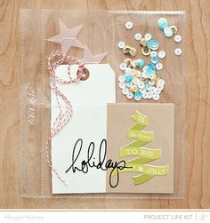 December Daily Ideas using Studio Calico Handbook and kits