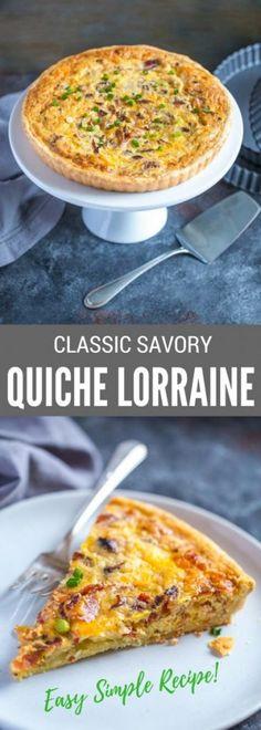 Quiche Lorraine Reci