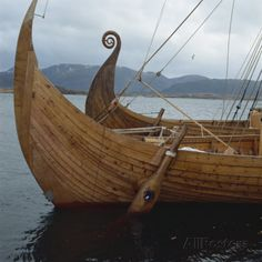 Image detail for -. of the Knarr Viking ship near Trondheim, Norway, Scandinavia, Europe Wood Boat Plans, Boat Building Plans, Viking Ship, Viking Art, Viking Longship, Norwegian Vikings, Wood Boats, Plywood Boat, Norse Vikings