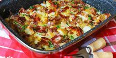 Gazdovské zemiaky – Tinkine recepty Keto Recipes, Healthy Recipes, Healthy Food, Russian Recipes, Fruits And Vegetables, Paella, Cauliflower, Macaroni And Cheese, Food Photography