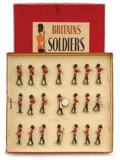 Britains set 2113 band of, the Grenadier Guards, circa 1956,… - Militaria - Toys & Models - Carter's Price Guide to Antiques and Collectables