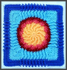 Ravelry: August Sun - WWBAMCAL pattern by Donna Kay Lacey