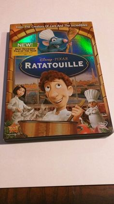 Dvd Walt Disney/ Pixar Ratatouille like new condition with slipcover! | DVDs & Movies, DVDs & Blu-ray Discs | eBay!
