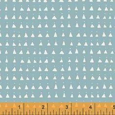 Triangles Soft Blue Whisper - Na ponta d'agulha