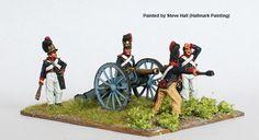 BAV 20 Artillery loading 6 pounder, Perry Miniatures