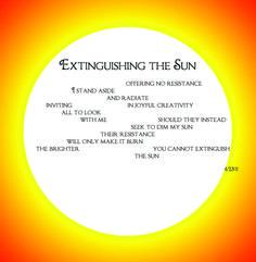 Extinguishing the Sun