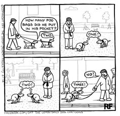 Off the Leash : Le cartoon préféré de Ziggy. Off the Leash : Ziggy's favorite dog friendly cartoonist.