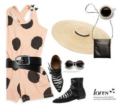 """So Dotty: Polka Dots"" by blogthegoodlife ❤ liked on Polyvore featuring Joah Love, Isabel Marant, L.L.Bean, The Row, H&M and PolkaDots"