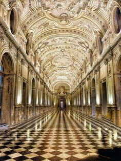 Royal Palace (Palazzo Reale) in Turin