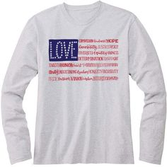 America The Wonderful Kids Long Sleeve T-Shirt