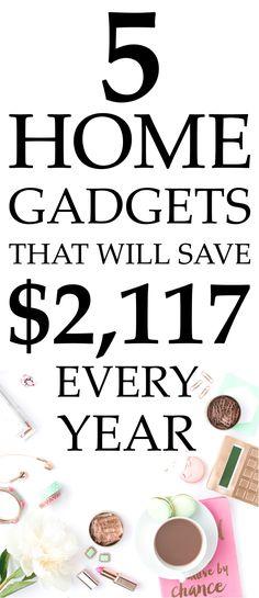 Smart home gadgets, how to save money, brita, save electricity, smart power strip, fluorescent light bulbs, efficient shower head, electricity usage meter, gadgets 2017 #savemoney