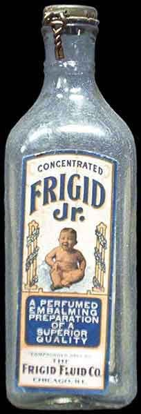 """a perfumed embalming preparation"" -- with a picture of a baby on the label -- ???!!!"